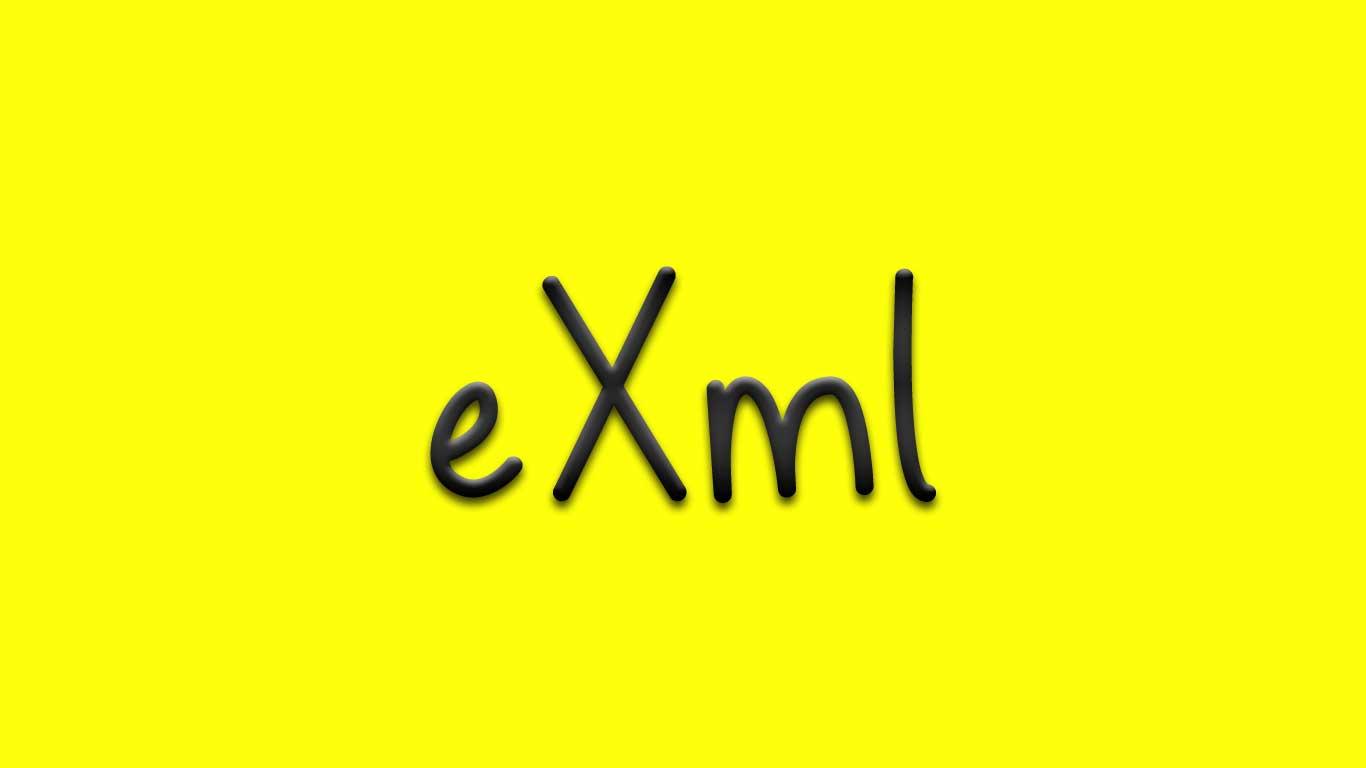 Logo for the Exml.com domain name