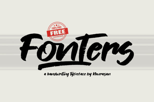 Logo of the Fonters font