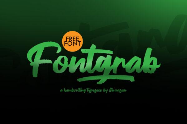 Logo of the Fontgrab font