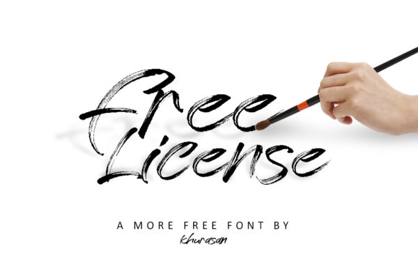 Logo of the Free License font