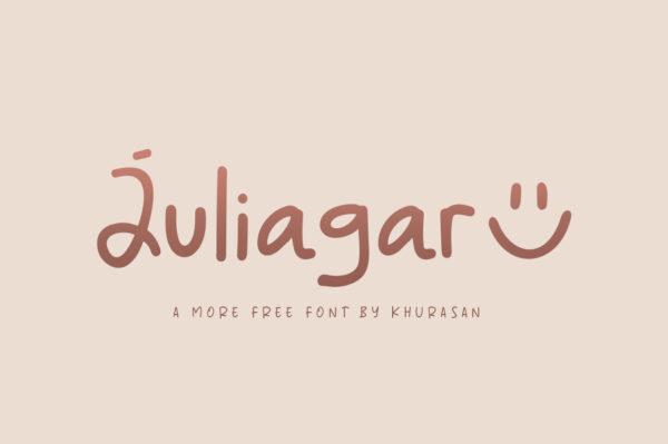Logo of the Juliagar font