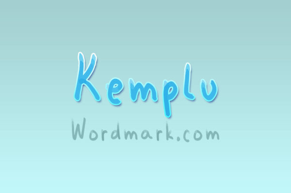 Logo of the Kemplu font