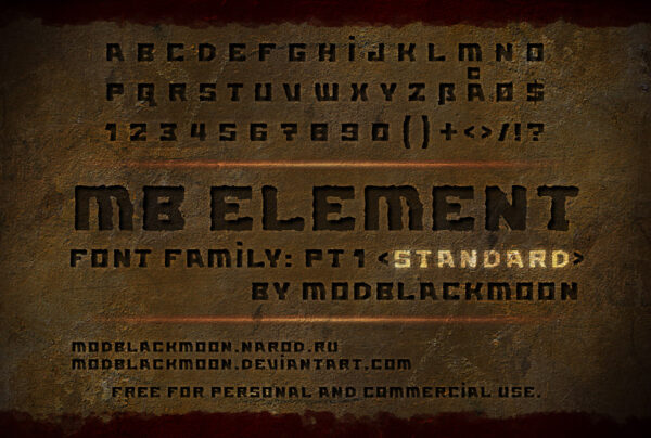 Logo of the MB Element font