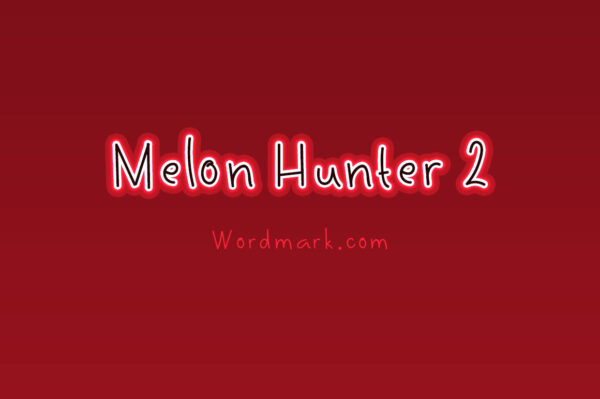 Logo of the Melon Hunter 2 font