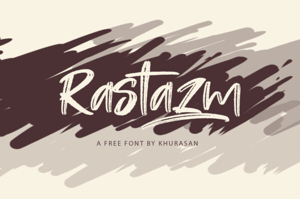 Logo of the Rastazm font