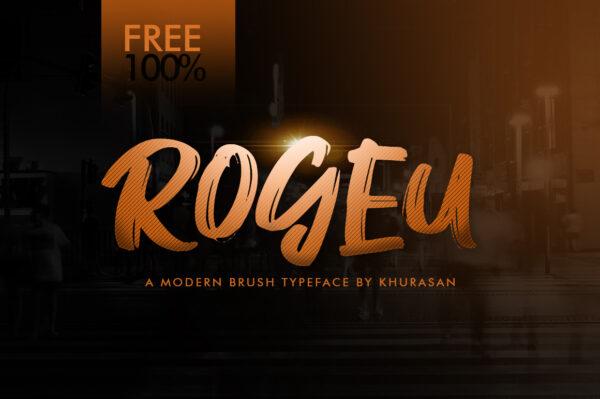 Logo of the Rogeu font