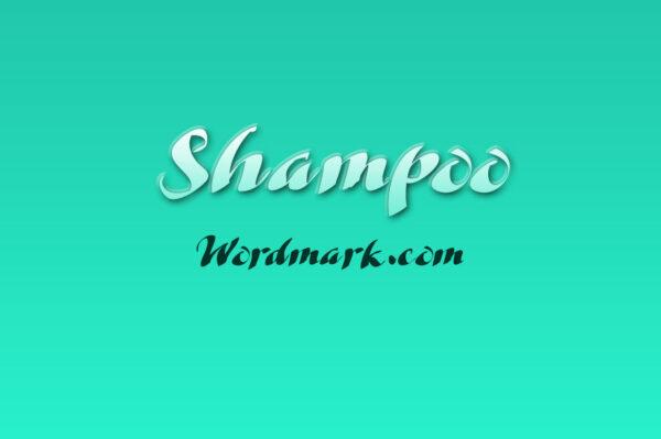 Logo of the Shampoo font
