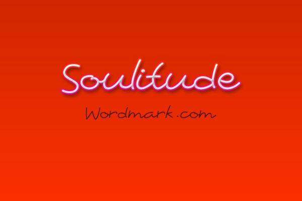 Logo of the Soulitude font