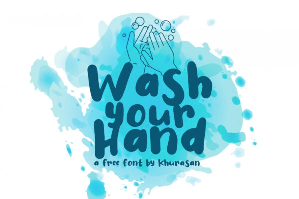 Logo of the Wash Your Hand font